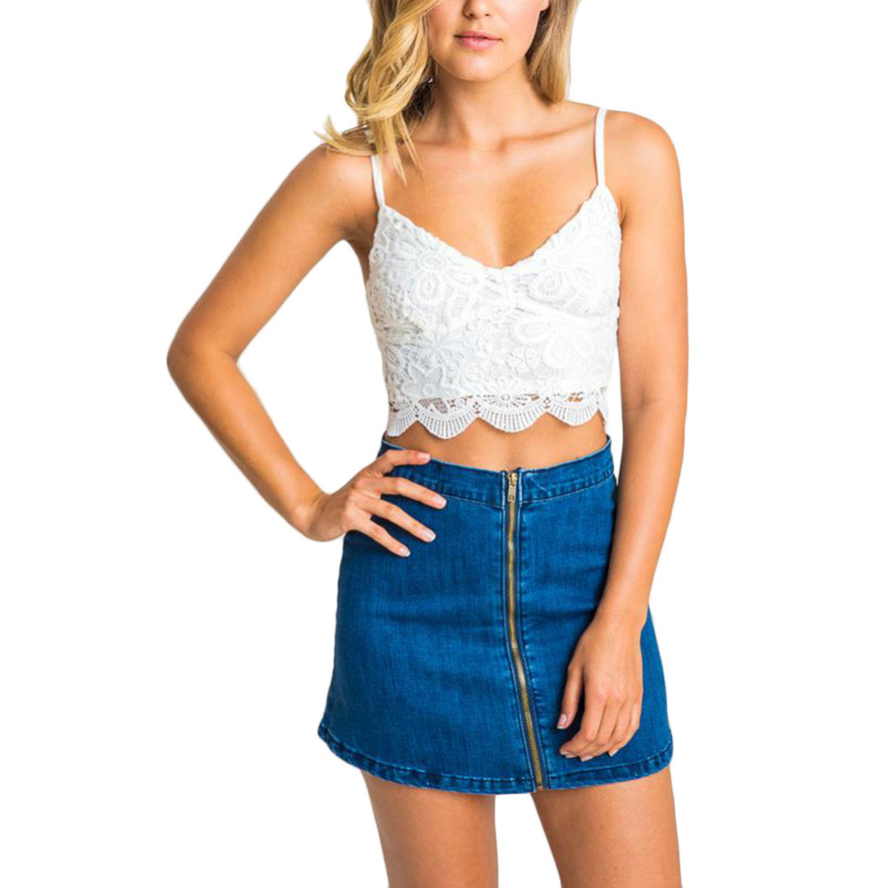 White Crochet Crop tops Inspirational 2016 Summer tops Hot Sale Camis Lace Crochet Crop top Of Gorgeous 46 Pics White Crochet Crop tops