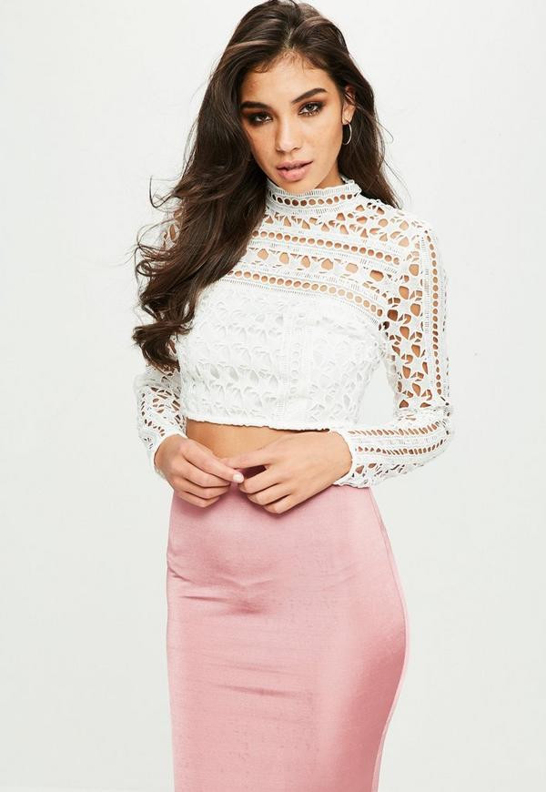 White Crochet Crop tops New White Crochet Lace Crop top Of Gorgeous 46 Pics White Crochet Crop tops