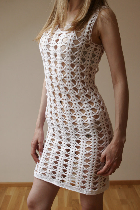 White Crochet Dress Fresh White Crochet Dress Lace Of Adorable 49 Pics White Crochet Dress