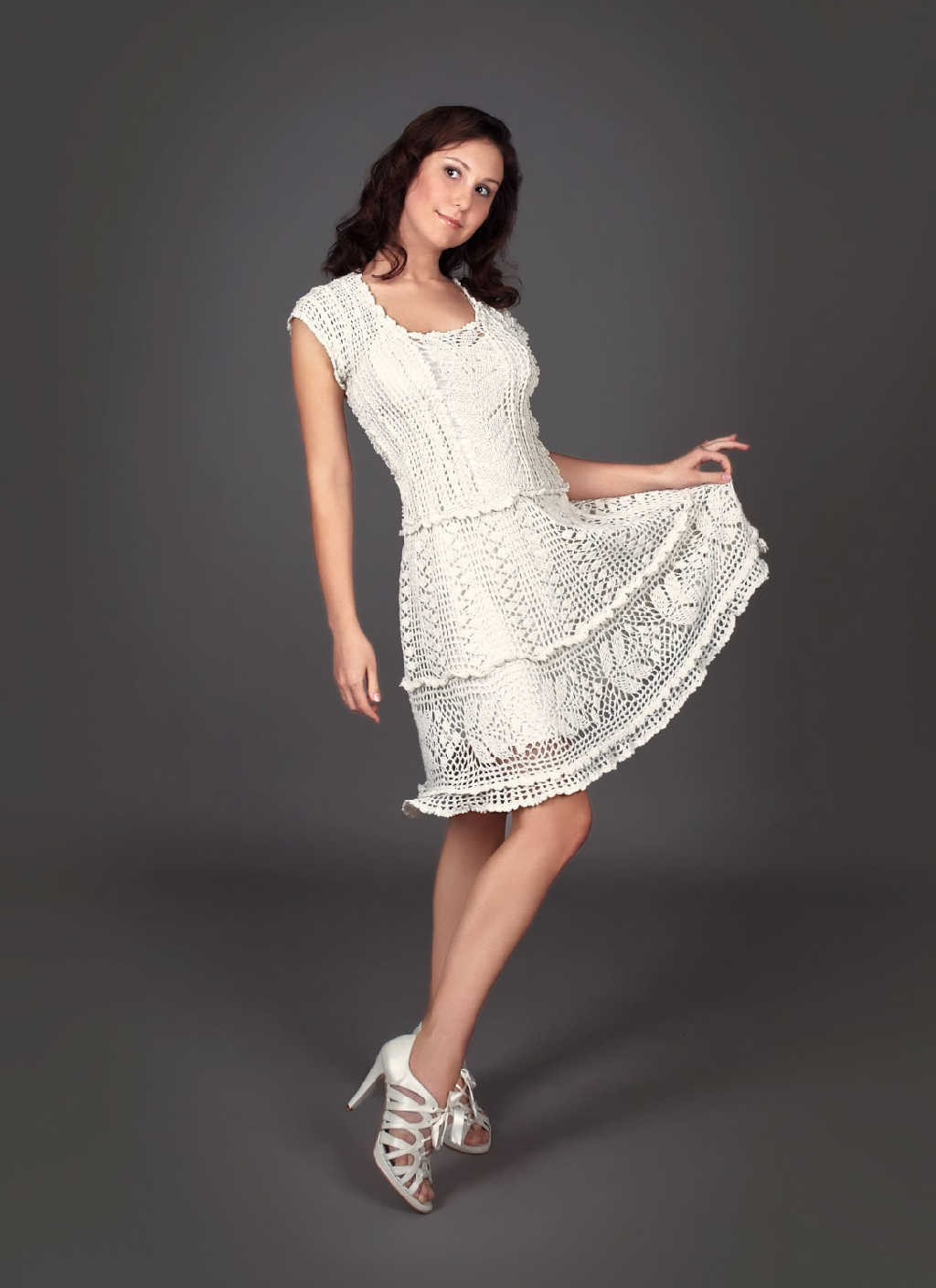 White Crochet Dress Inspirational Crinochet the Whites Have It Of Adorable 49 Pics White Crochet Dress