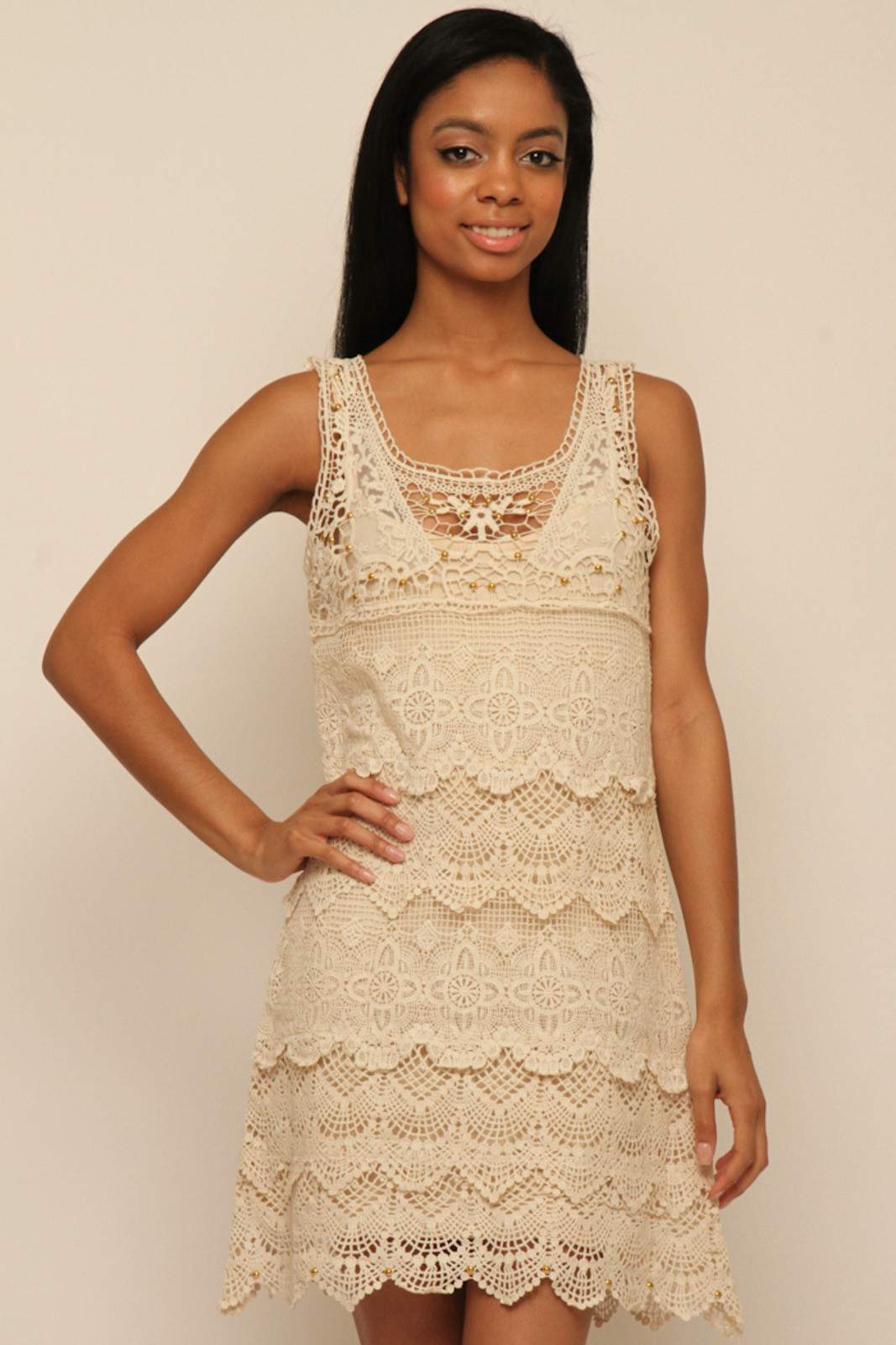 White Crochet Dress New White Crochet Dress — Shoptiques Of Adorable 49 Pics White Crochet Dress