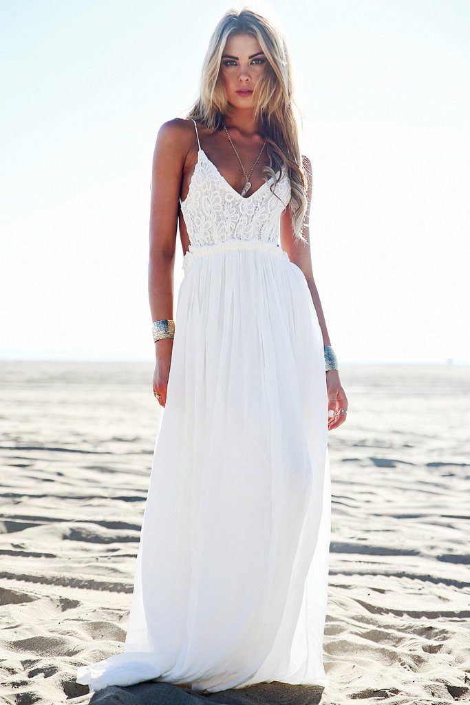 White Crochet Maxi Dresses Awesome Camilla Open Back Crochet Maxi Dress White – Haute Of Great 44 Pics White Crochet Maxi Dresses