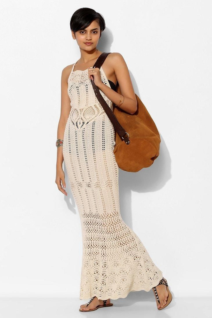 White Crochet Maxi Dresses Beautiful 24 Best Beach Dresses Images On Pinterest Of Great 44 Pics White Crochet Maxi Dresses
