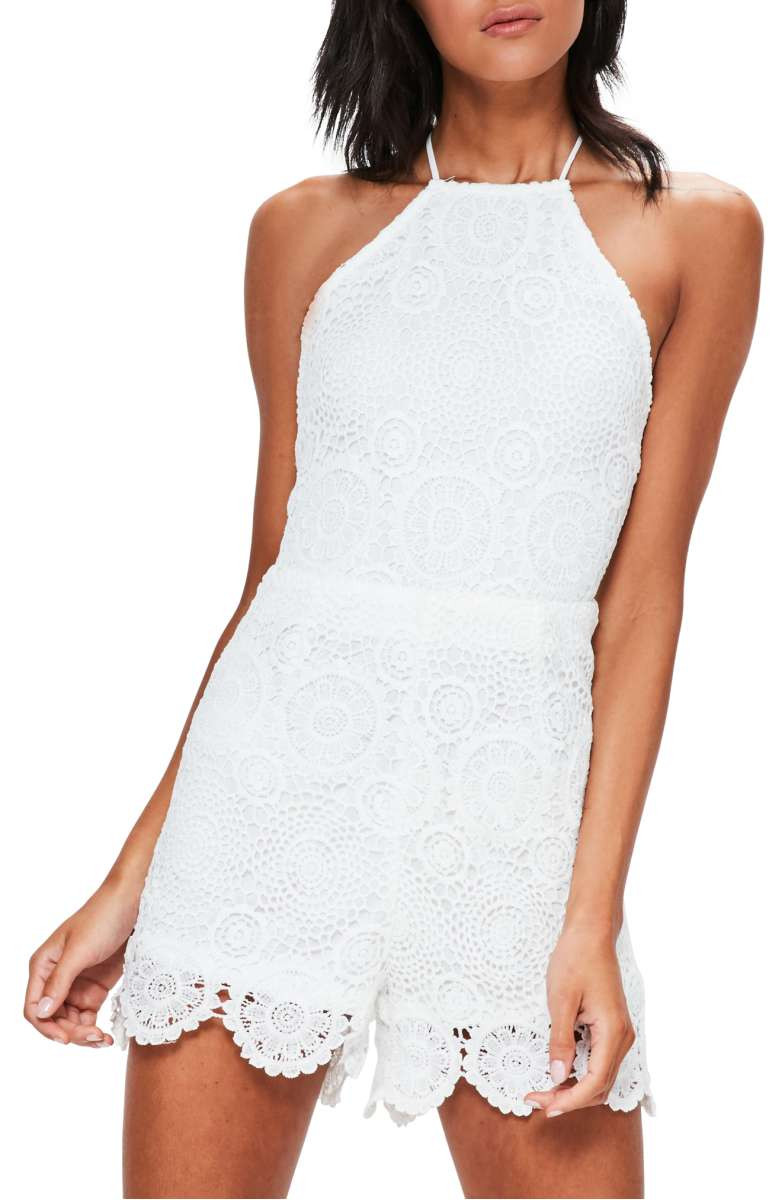 White Crochet Romper Unique Trendy Lace Rompers for Summer 2017 In Every Style and Of Attractive 45 Photos White Crochet Romper