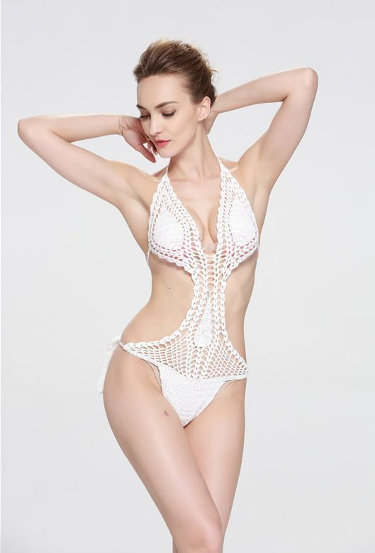 White Crochet Swimsuit Unique White Y Crochet Beach Swimwear Swimsuit Knitted Cover Of Top 50 Photos White Crochet Swimsuit