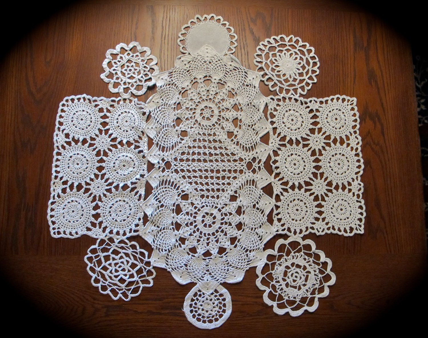 White Doilies Beautiful White Doilies Lace Round Table topper for Weddings 30 Of Awesome 41 Photos White Doilies