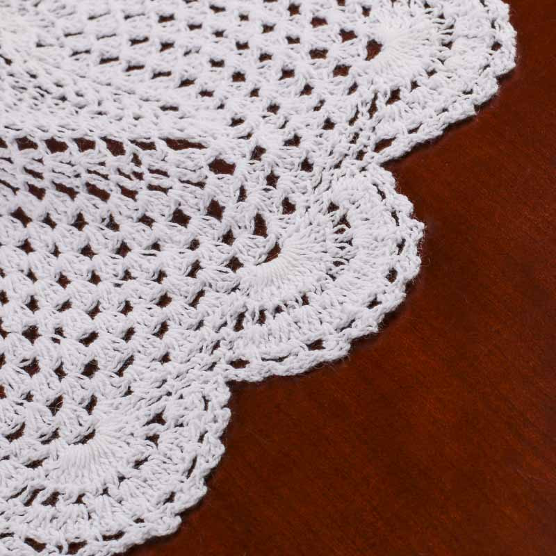 White Doilies Elegant White Round Crocheted Doily Crochet and Lace Doilies Of Awesome 41 Photos White Doilies