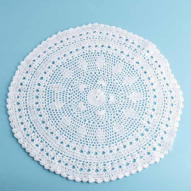 White Doilies Fresh White Round Crocheted Doily Crochet and Lace Doilies Of Awesome 41 Photos White Doilies