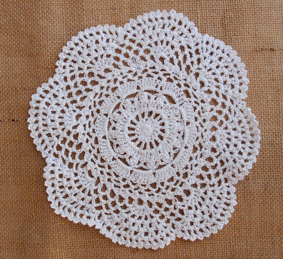 "White Doilies New 8"" Round Handmade Cotton Crochet Doilies White 2 Pack Of Awesome 41 Photos White Doilies"