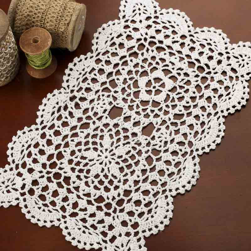 White Doilies New Rectangular White Crocheted Doily Crochet and Lace Of Awesome 41 Photos White Doilies