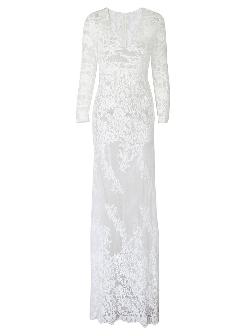Factory Outlets Charming New Arrival White Crochet Lace