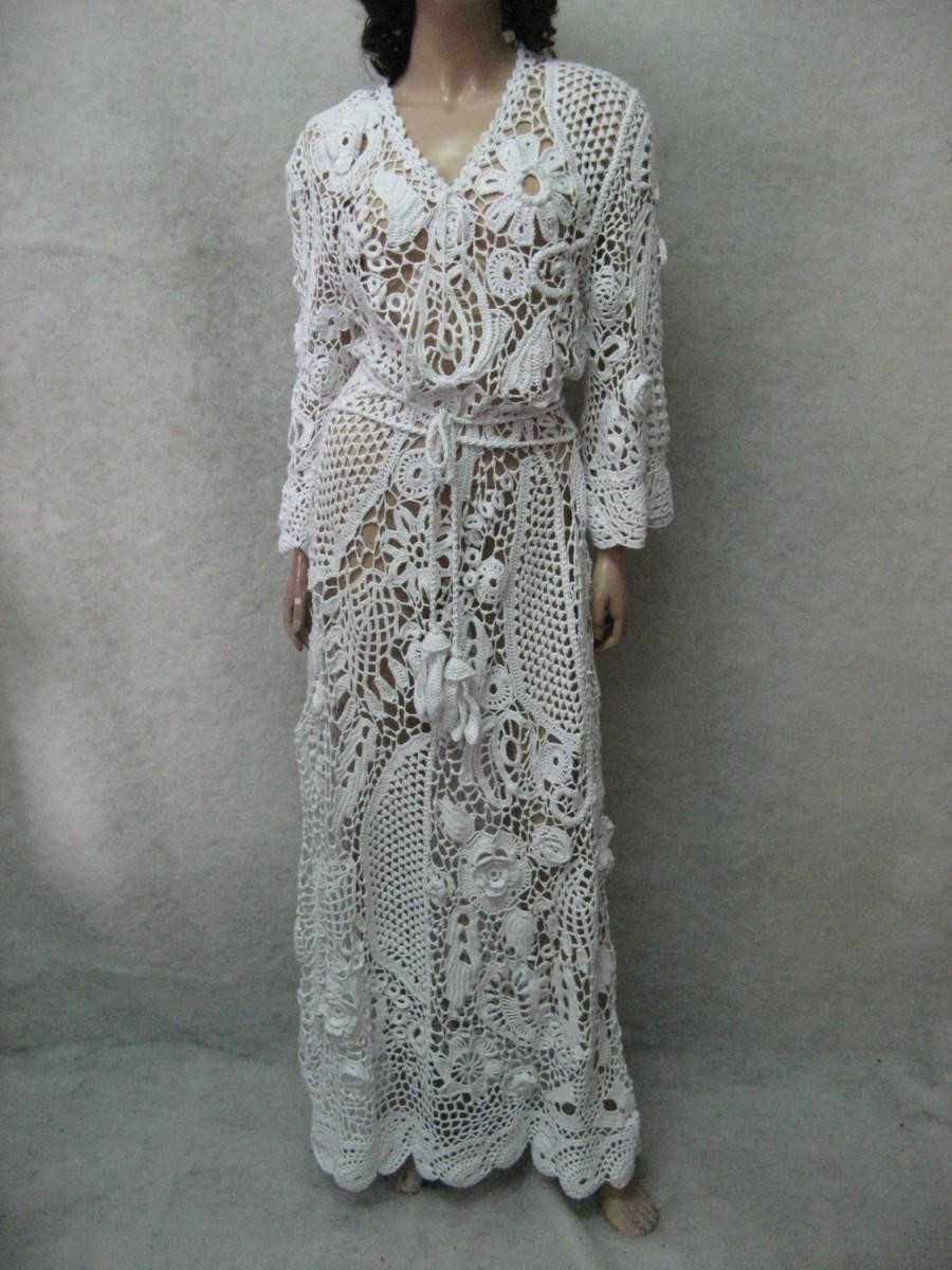 White Lace Crochet Dress New Crochet Dress Handmade Maxi Dress Crochet White Dress Of Awesome 48 Photos White Lace Crochet Dress