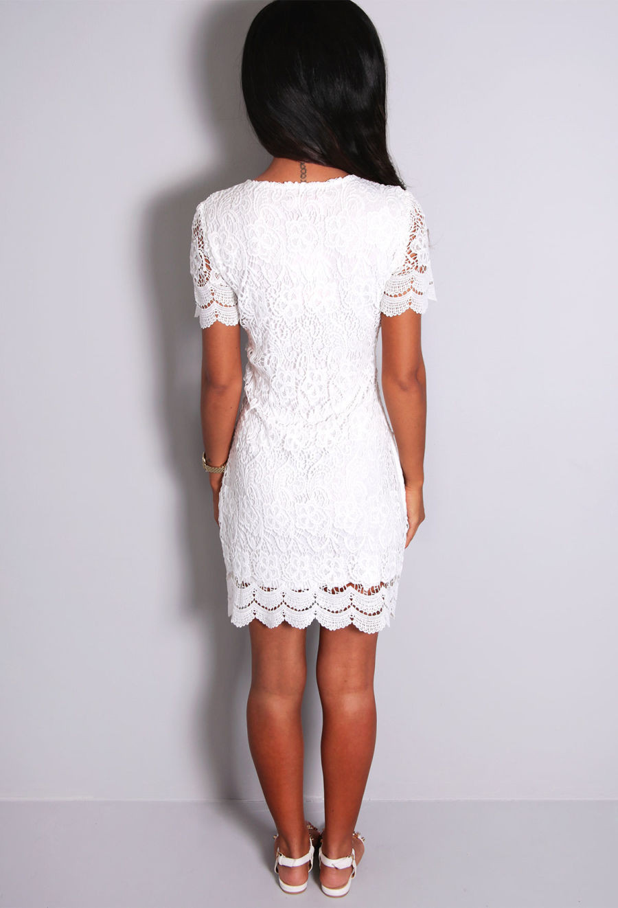White Lace Crochet Dress Unique Monalisa White Lace Crochet Mini Dress Of Awesome 48 Photos White Lace Crochet Dress