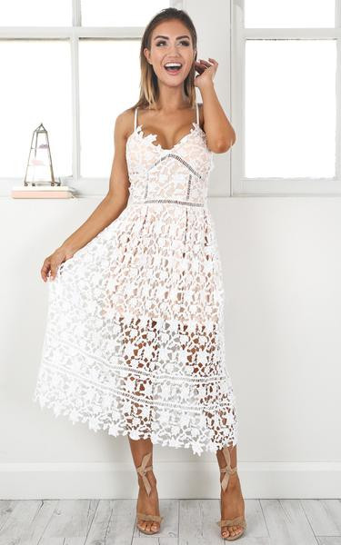 White Lace Crochet Dress Unique Summer White Out Lace Crochet Dress ♡ – Lyfie Of Awesome 48 Photos White Lace Crochet Dress