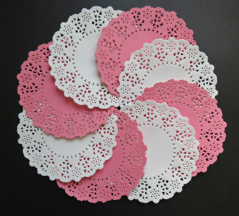 White Paper Doilies Fresh Pink and White Daisy Chain 11cm Paper Lace Doilies X 20 Of Amazing 42 Models White Paper Doilies