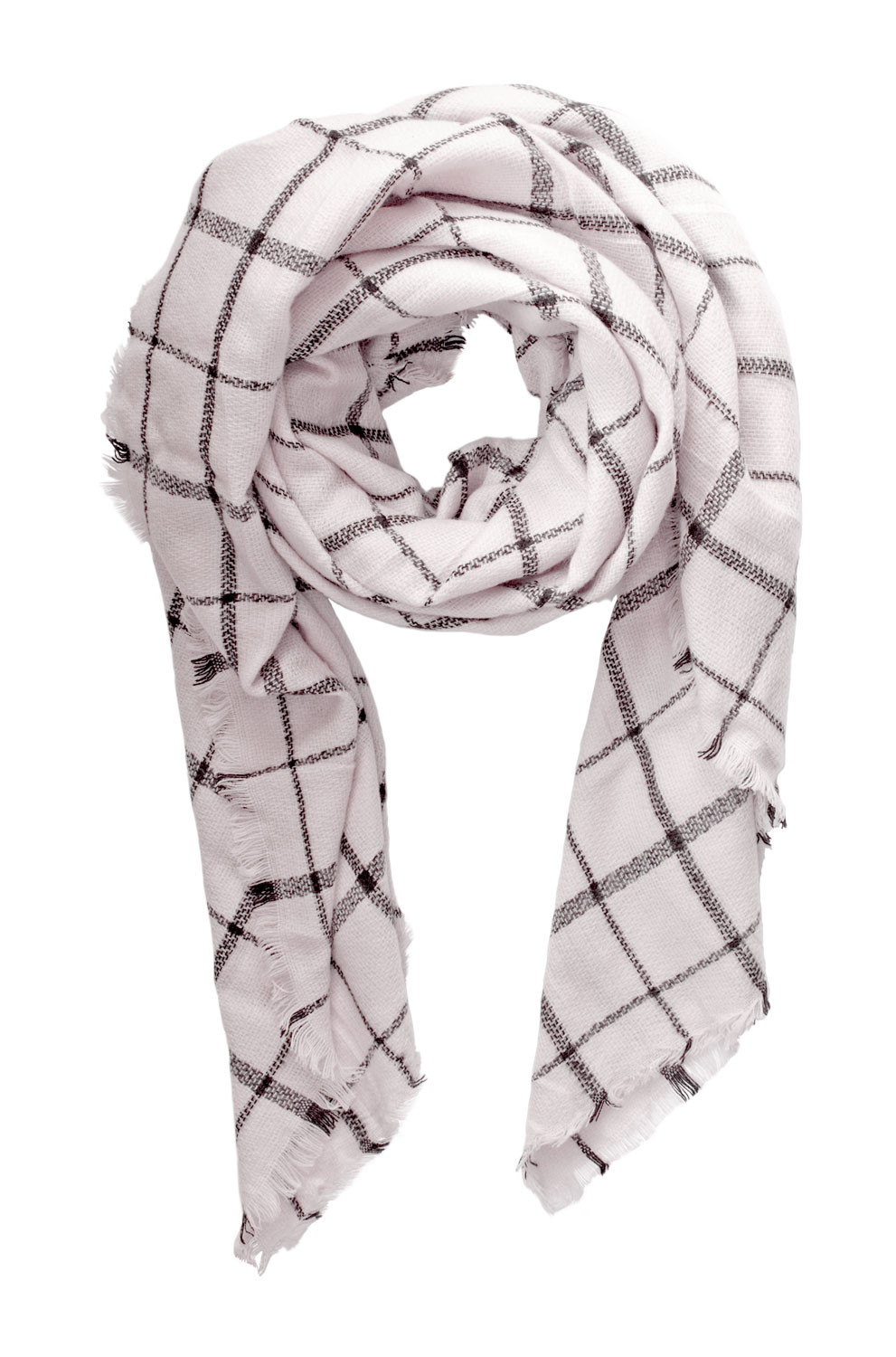 Windowpane Scarf Beautiful Cream and Black 'windowpane' Oversize Scarf Of Delightful 46 Photos Windowpane Scarf
