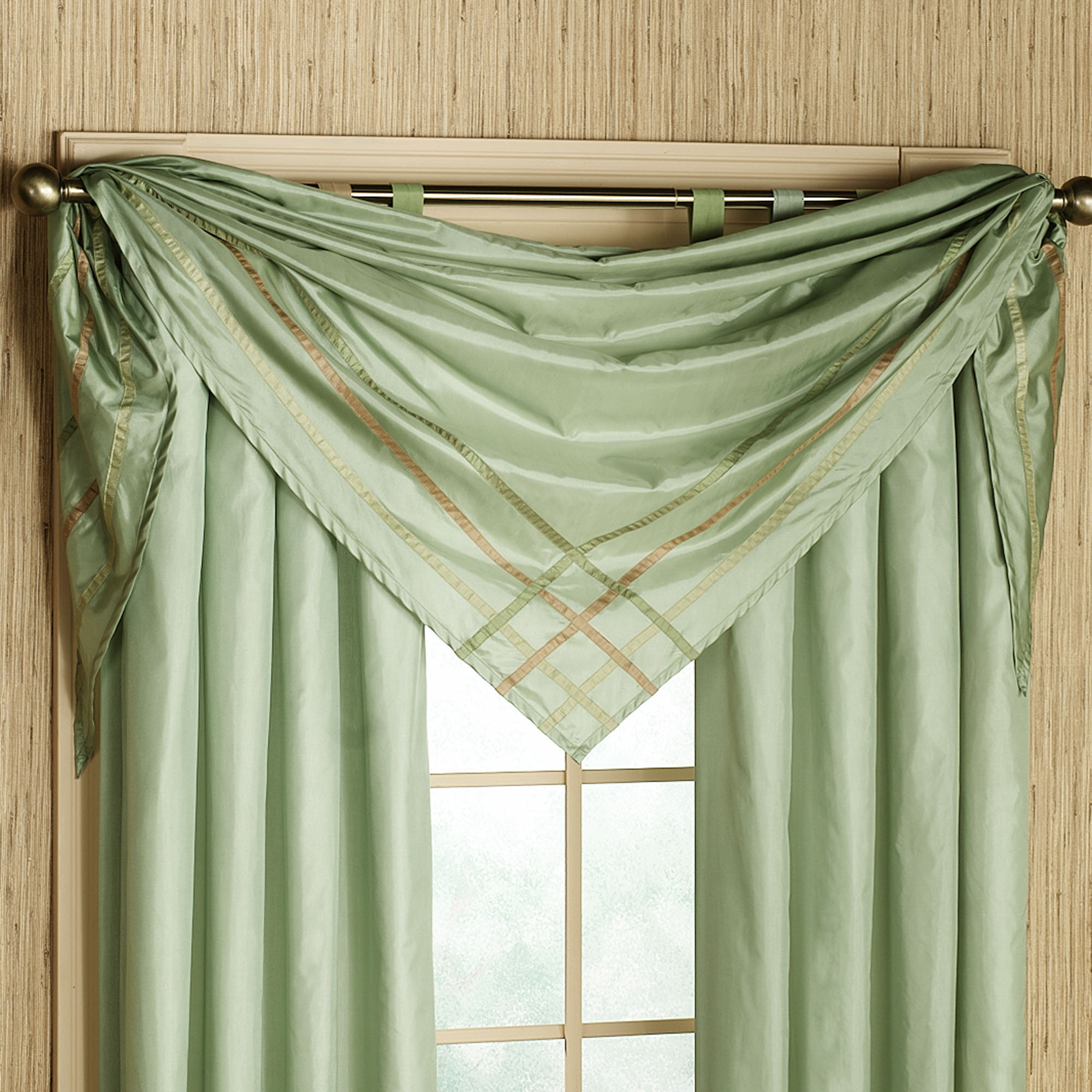 curtain scarf ideas Home The Honoroak