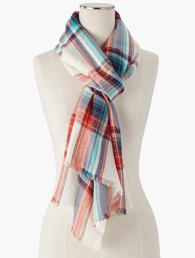 Windowpane Scarf Unique Lyst Talbots Windowpane Plaid Scarf Of Delightful 46 Photos Windowpane Scarf