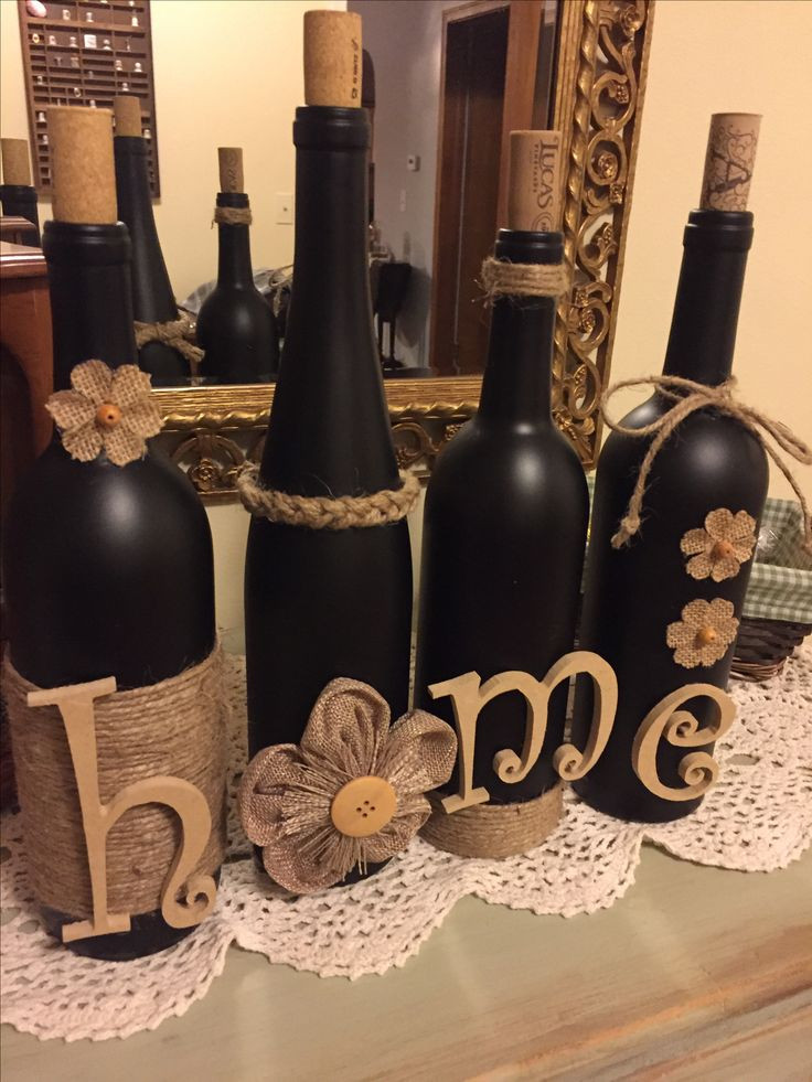 Wine Bottle Crafts Awesome Ta Da Wine Bottle Craft with Jute and Burlap Of Luxury 40 Images Wine Bottle Crafts