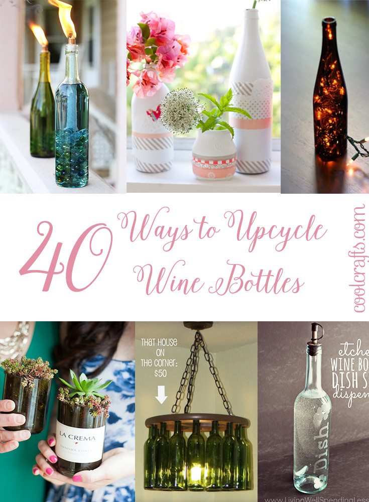Wine Bottle Crafts Elegant Diy Wine Bottle Upcycle Diy Do It Your Self Of Luxury 40 Images Wine Bottle Crafts