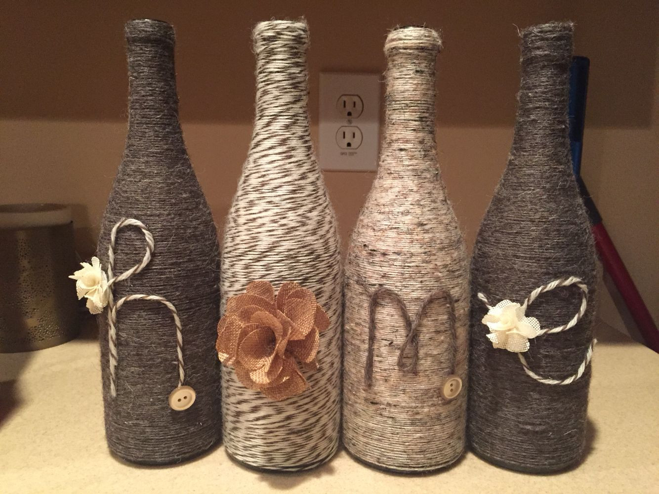 Wine Bottle Crafts Elegant Wine Bottles Decorated with Yarn Craft Time Of Luxury 40 Images Wine Bottle Crafts