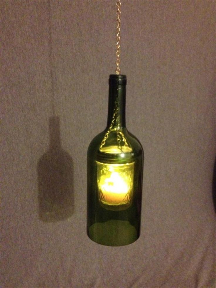 37 best Wine bottle crafts images on Pinterest