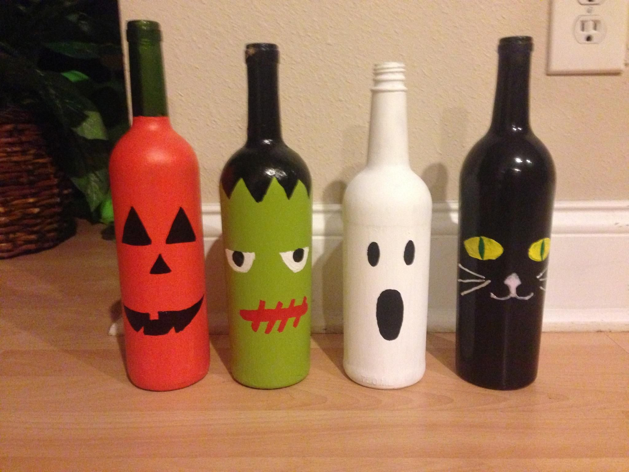 Wine Bottle Crafts Fresh Wine Bottle Halloween Craft Project Fall Of Luxury 40 Images Wine Bottle Crafts