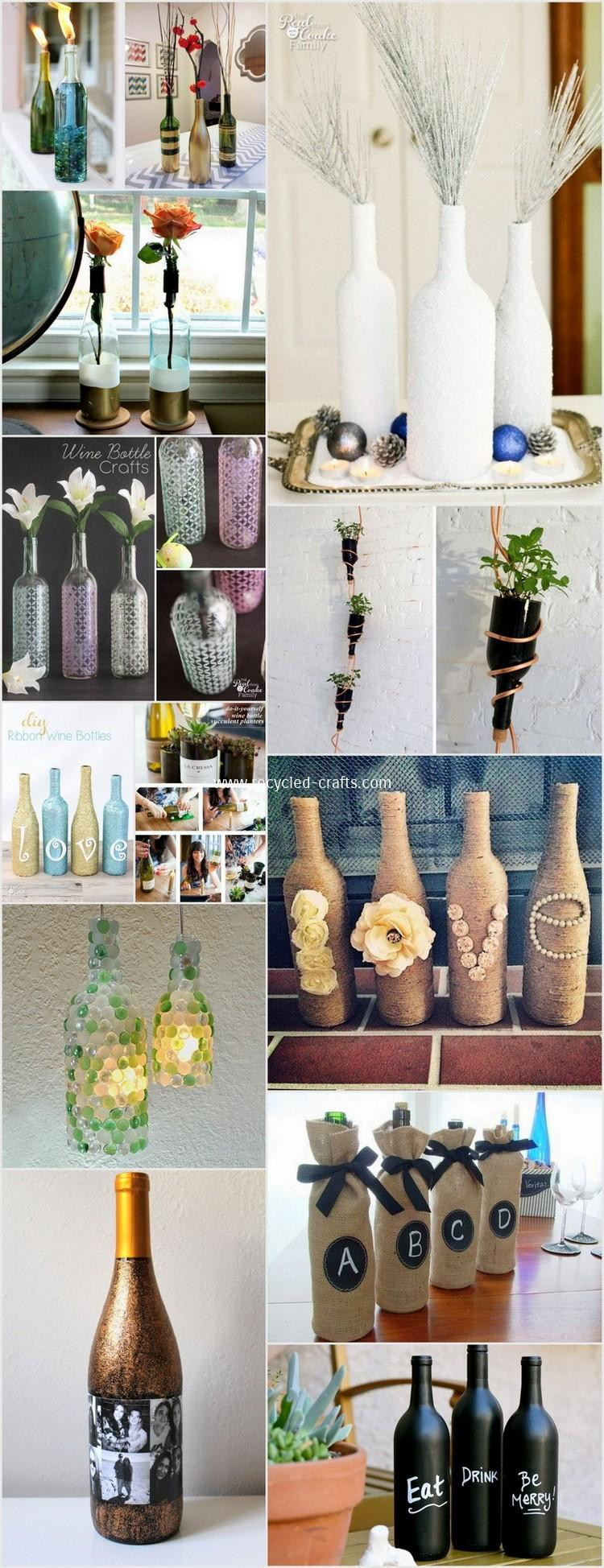 Wine Bottle Crafts Lovely Creative Diy Wine Bottle Craft Ideas Of Luxury 40 Images Wine Bottle Crafts