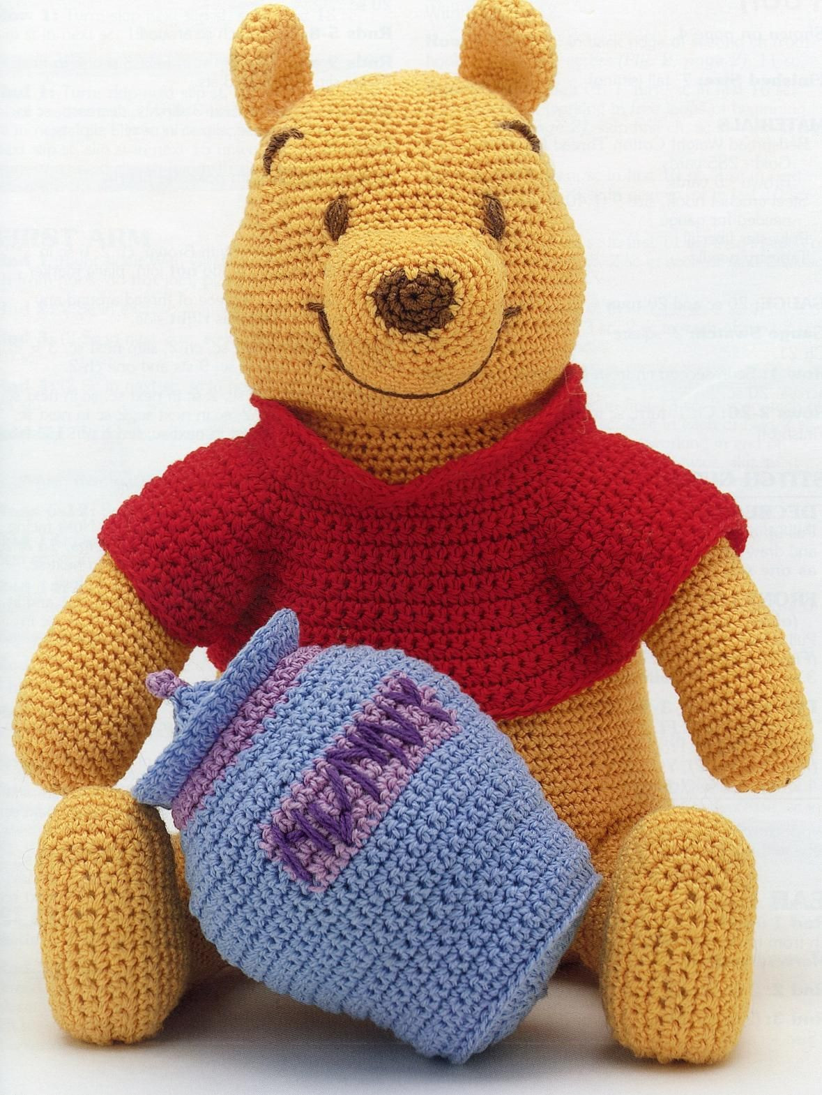 Winnie the Pooh Crochet Awesome Winnie the Pooh Crochet Pattern Honestly I D Rather Just Of Wonderful 41 Ideas Winnie the Pooh Crochet