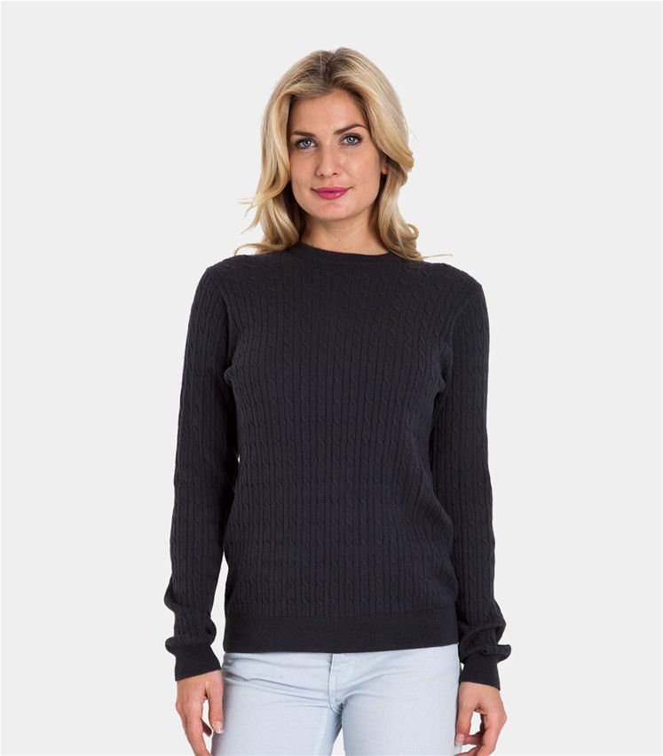 Womens Cable Knit Sweater Awesome Classic Navy Cashmere & Cotton Of Innovative 44 Pics Womens Cable Knit Sweater