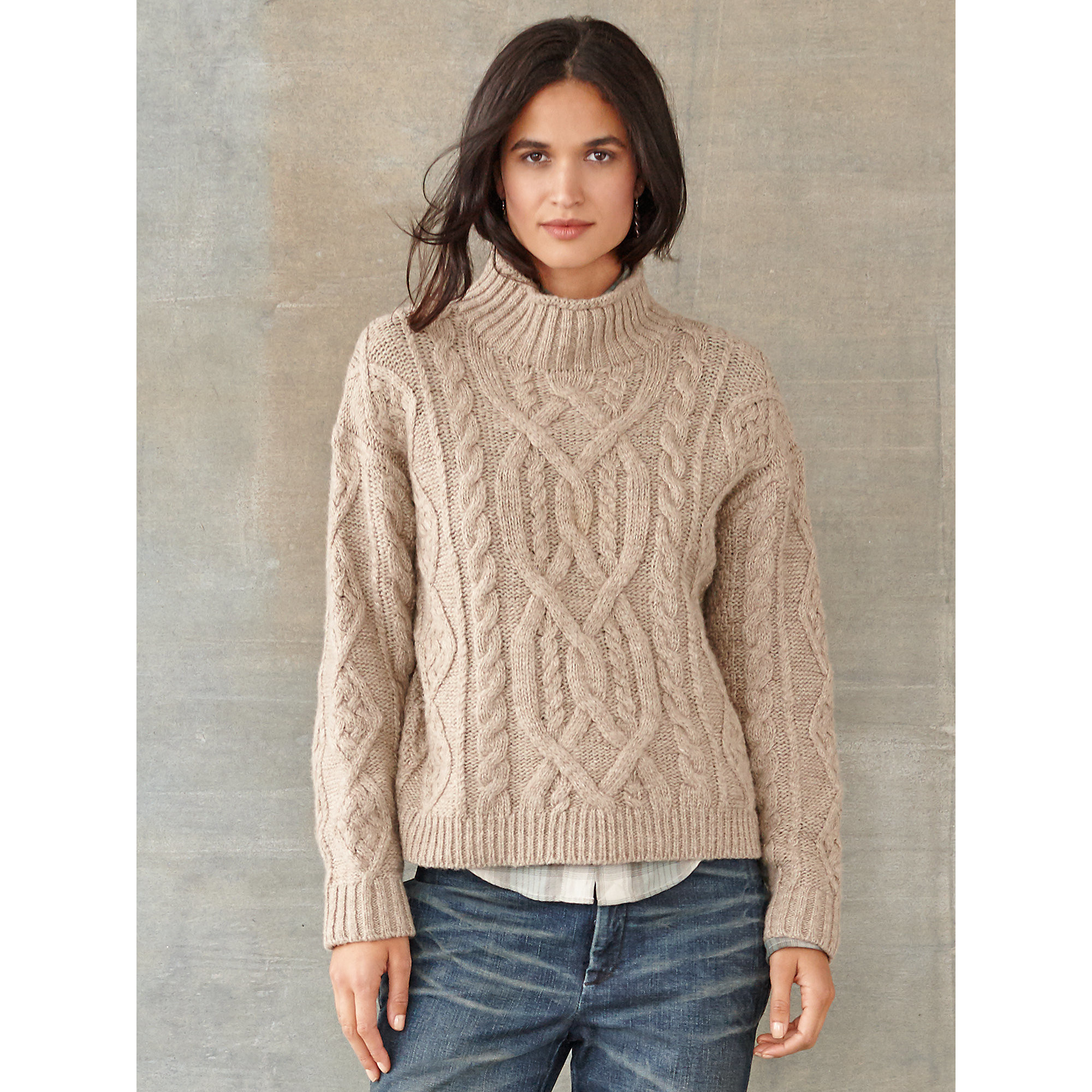 Womens Cable Knit Sweater Elegant Rrl Tessa Cable Knit Wool Sweater In Natural Of Innovative 44 Pics Womens Cable Knit Sweater