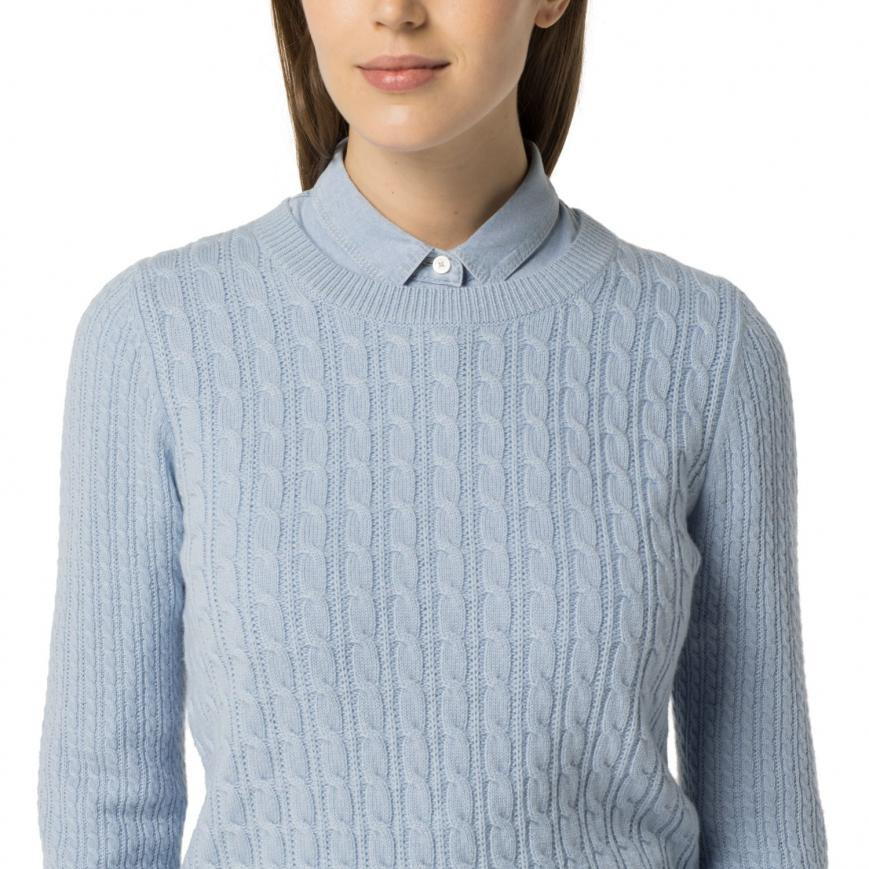 Womens Cable Knit Sweater Luxury Sweaters & Sweatshirts Blue tommy Hilfiger Classic Wool Of Innovative 44 Pics Womens Cable Knit Sweater
