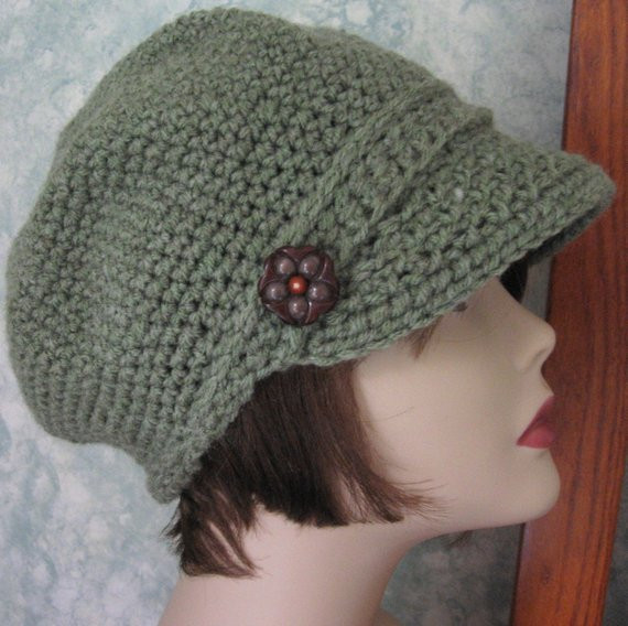 womens newsboy hat crochet pattern pdf