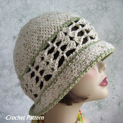 Womens Crochet Hat Patterns Luxury Womens Summer Crochet Hat Pattern Brimmed with Shell Of Luxury 50 Photos Womens Crochet Hat Patterns