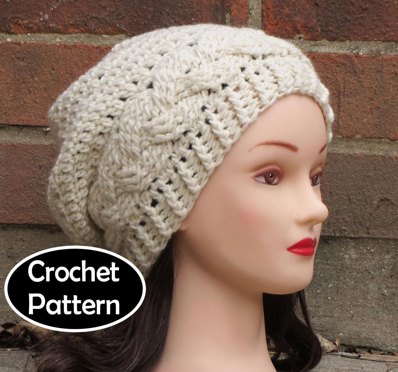 Womens Crochet Hat Patterns New Womens Slouchy Beanie Crochet Pattern Of Luxury 50 Photos Womens Crochet Hat Patterns