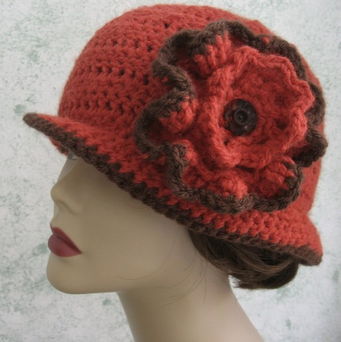 Womens Crochet Hat Patterns Unique Crochet Pattern Womens Hat Brimmed Hat with Flower Trim Of Luxury 50 Photos Womens Crochet Hat Patterns