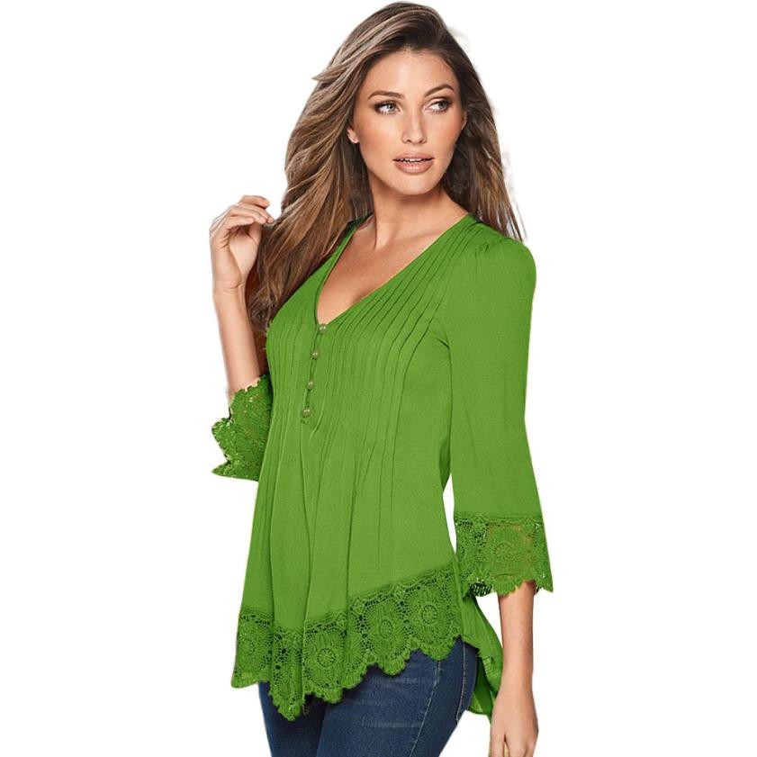 Womens Crochet tops Awesome T Shirt Women solid Y V Neck Long Sleeve Lace Crochet Of Unique 46 Pics Womens Crochet tops
