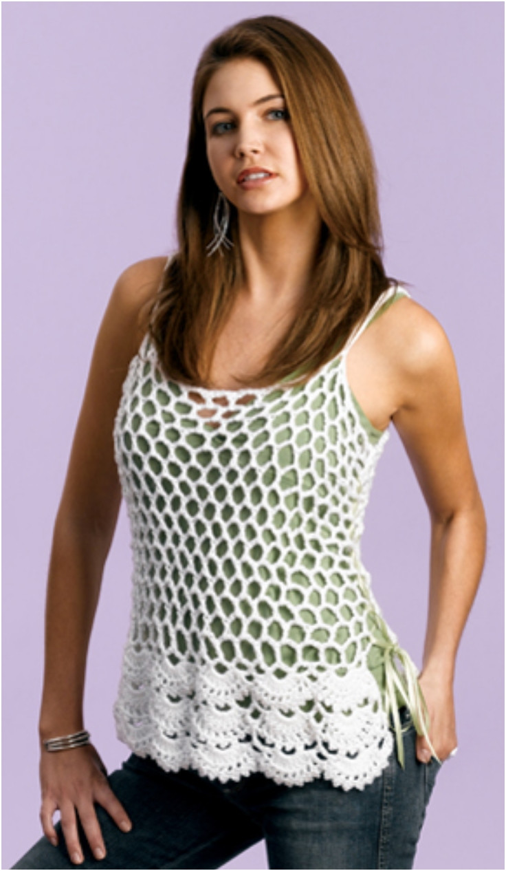 Top 10 Light And Airy Crocheted Summer Tops Top Inspired