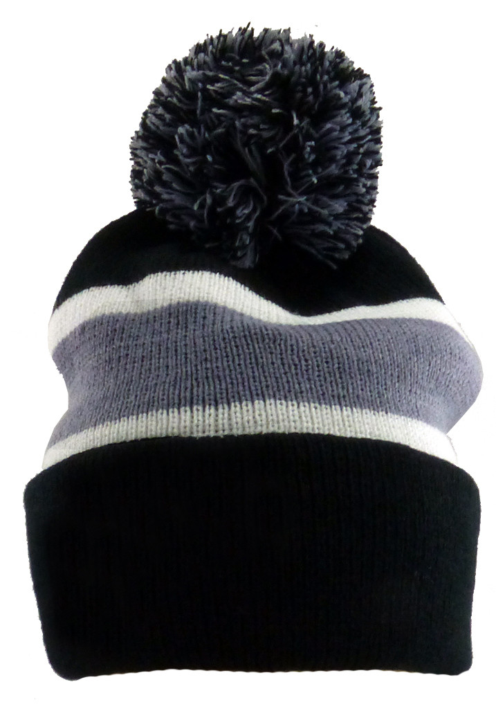 Womens Knit Hats Beautiful Mens Womens Pom Beanie Ski Black Long Knit Poof Striped Of Innovative 50 Images Womens Knit Hats