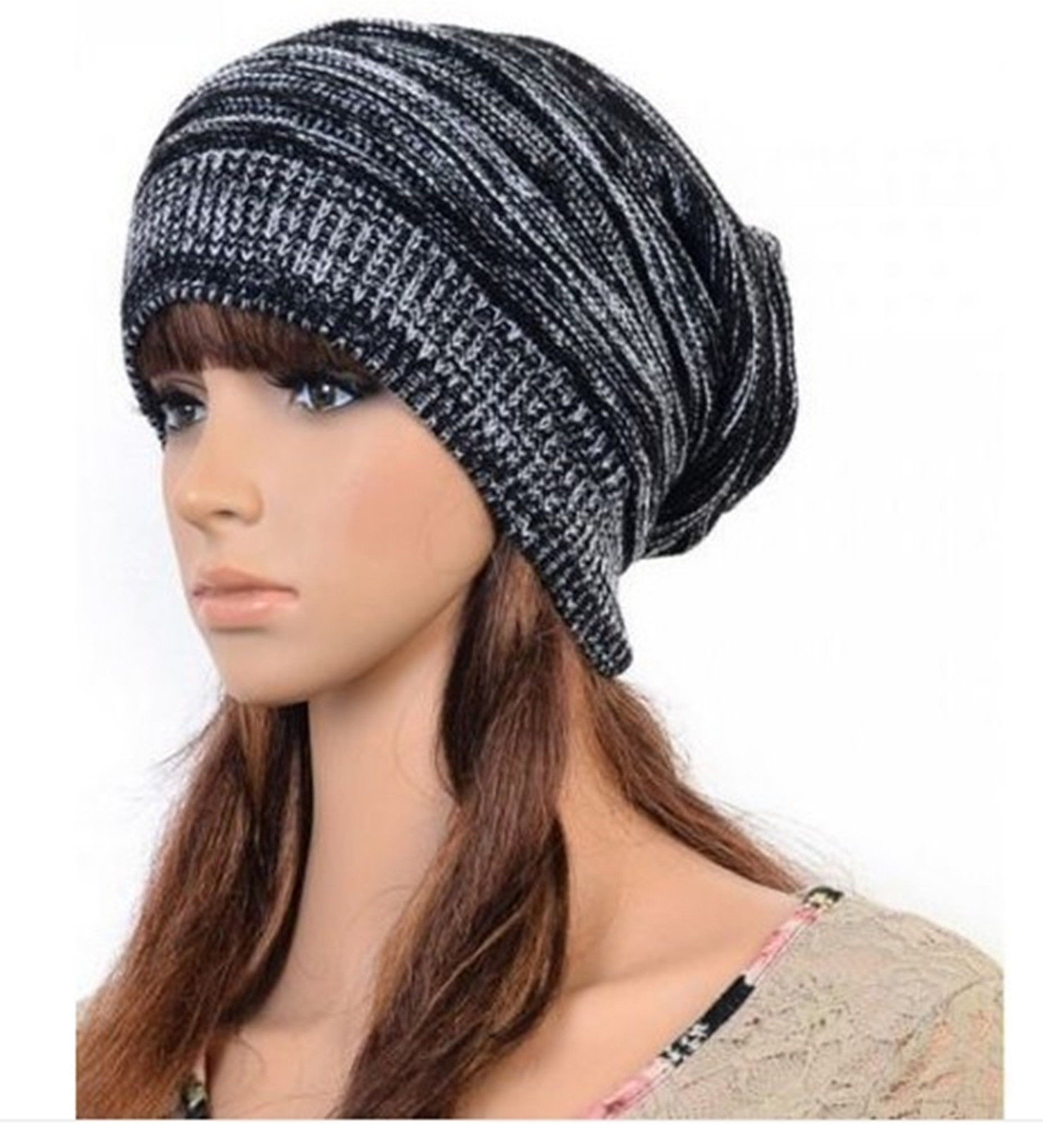Womens Knit Hats Best Of New Uni Womens Mens Knit Baggy Beanie Hat Winter Warm Of Innovative 50 Images Womens Knit Hats