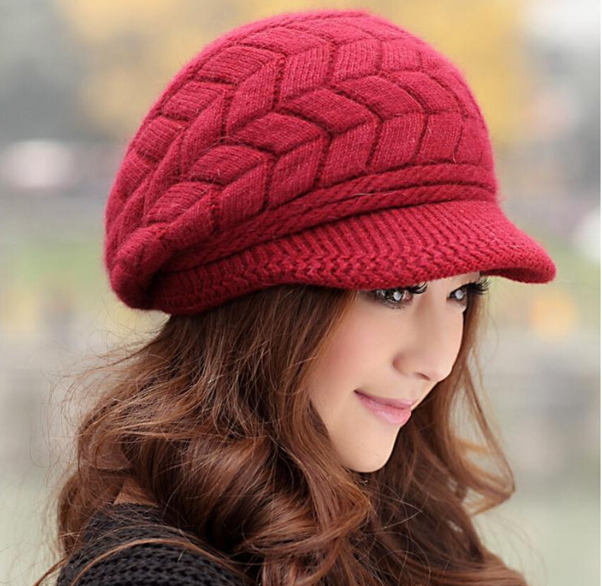 Womens Knit Hats New Aliexpress Buy Elegant Women Hat Winter & Fall Of Innovative 50 Images Womens Knit Hats