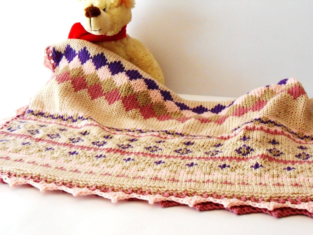 Wool Baby Blanket Inspirational Luxury Baby Knit Blanket Fair isle Knit Throw Hand Knitted Of Great 45 Pics Wool Baby Blanket
