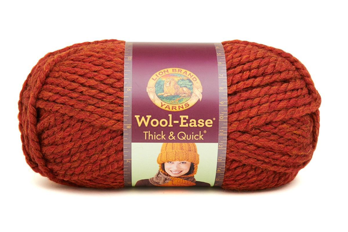 Lion Brand Yarn Woolease Thick & Quick Spice