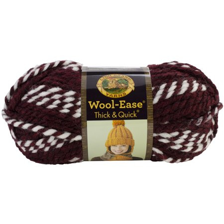 Wool Ease Thick and Quick New Wool Ease Thick & Quick Yarn Hoosiers Stripes Walmart Of Adorable 45 Photos Wool Ease Thick and Quick