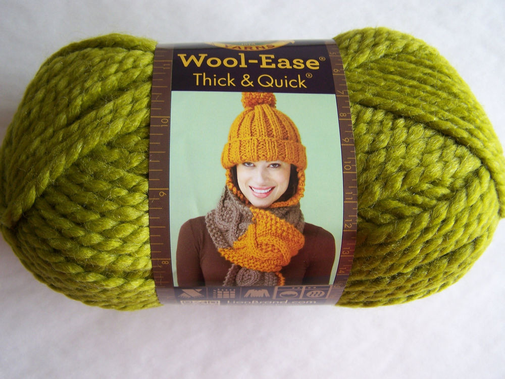 Lion Brand Wool Ease Thick & Quick Yarn 1 SK Sel Color 640