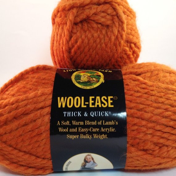 Wool Ease Thick and Quick Yarn Lovely Lion Brand Yarn Wool Ease Thick & Quick In Color Pumpkin Lot Of Charming 46 Pictures Wool Ease Thick and Quick Yarn