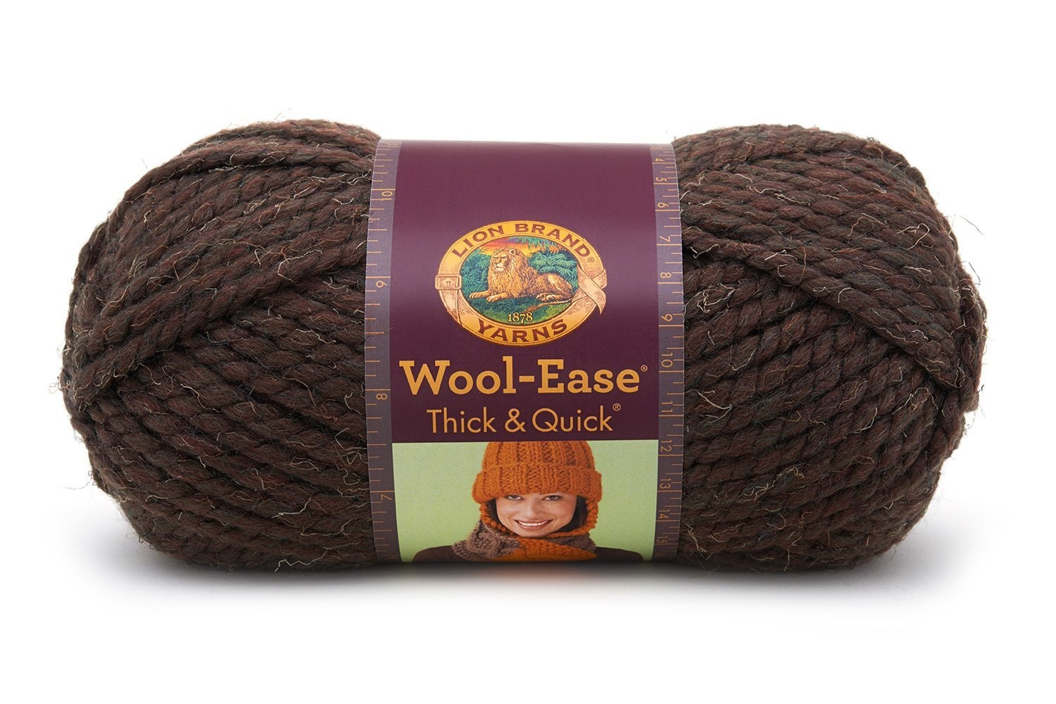 Lion Brand Yarn 640 136F Wool Ease Thick and Quick Yarn