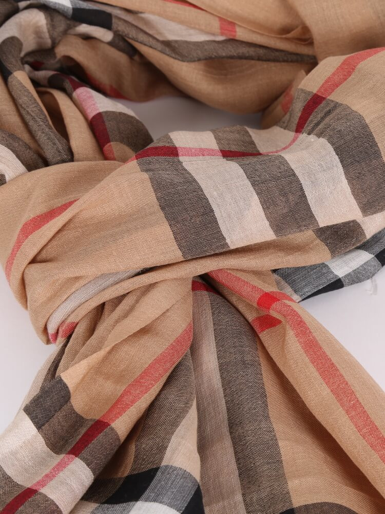 Wool for Sale Beautiful Burberry Wool & Silk Check Scarf Beige Of Amazing 50 Models Wool for Sale