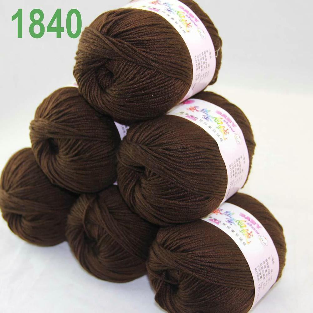 Wool for Sale Best Of Sale 6x50g Balls soft Cashmere Silk Wool Hand Knitting Of Amazing 50 Models Wool for Sale
