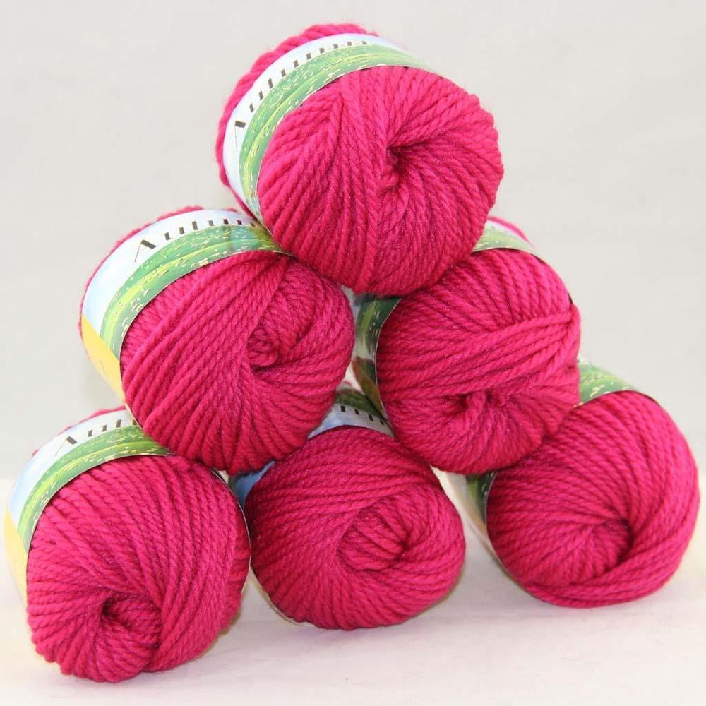 Wool for Sale Elegant Sale Lot Of 6x50gr Balls New soft Worsted Wool Silk Warm Of Amazing 50 Models Wool for Sale
